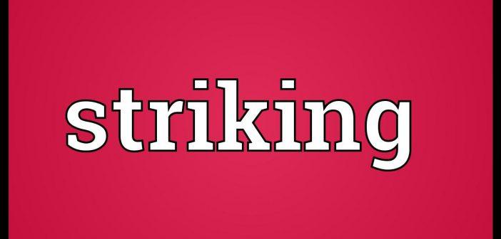 striking meaning