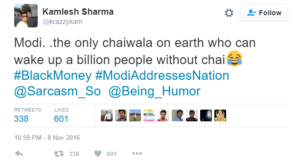Top 10 Hilarious Twitter Reactions on 500-1000 Currency Ban